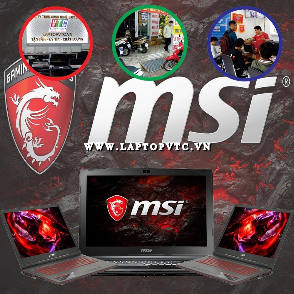 Sửa Laptop MSI Bình Dương