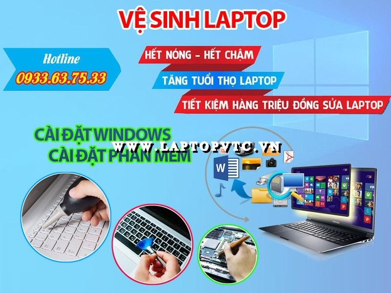 Vệ Sinh Và Cài Đặt Laptop