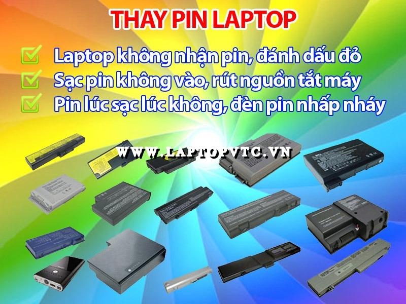 Thay Pin - Phục Hồi Pin Laptop