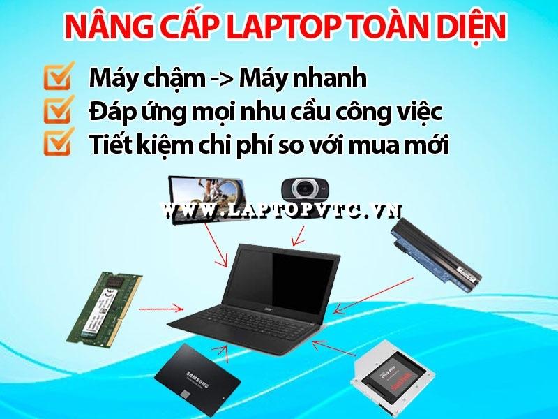 Nâng Cấp Laptop Toàn Diện