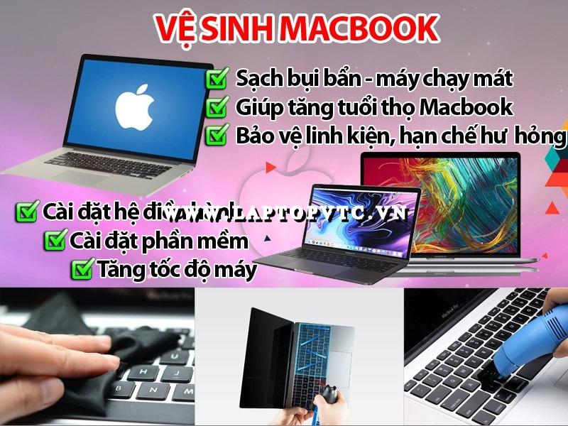 Vệ Sinh Và Cài Đặt Macbook