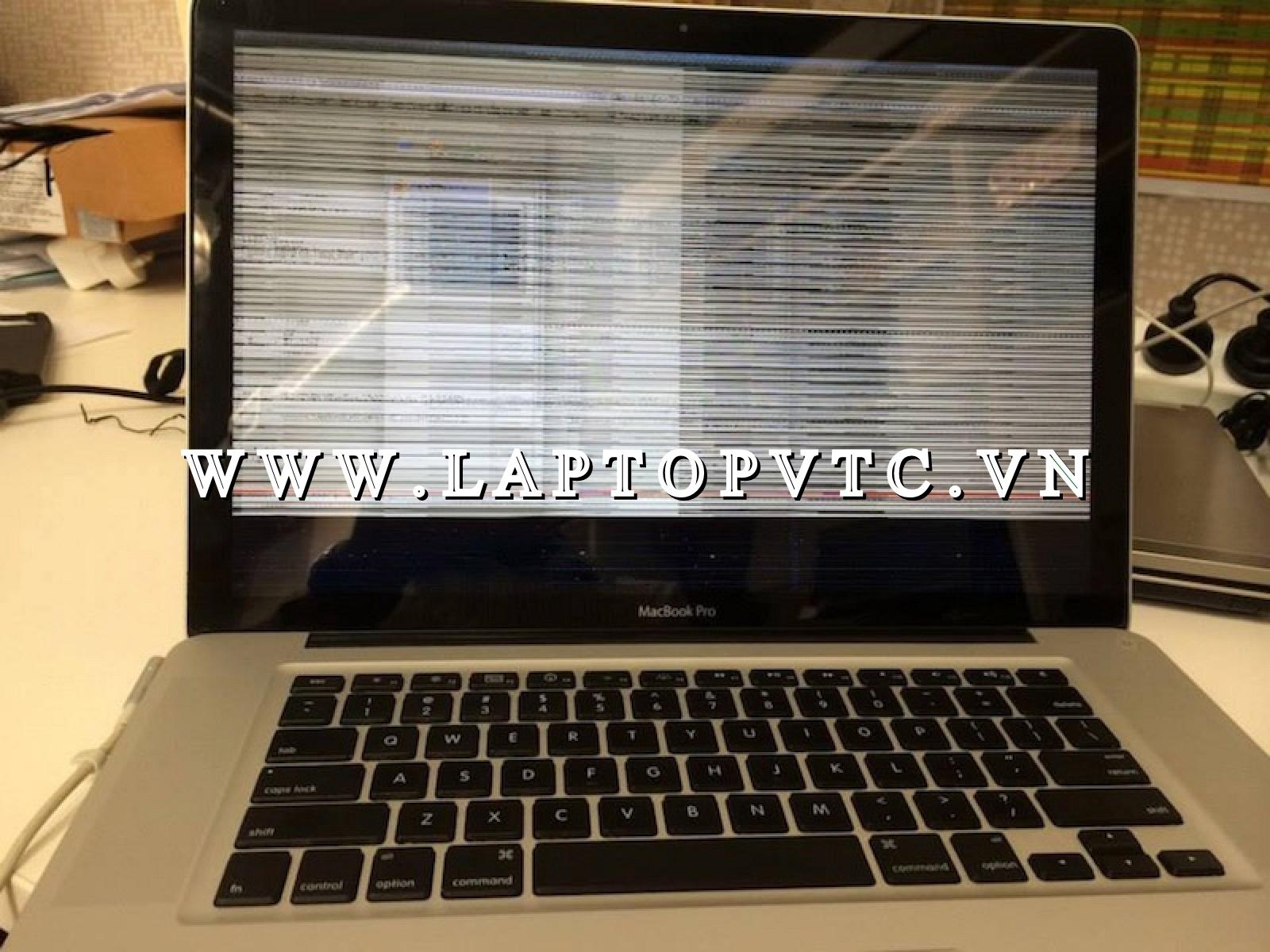 Sửa MacBook nhòe nhiễu, không  lên hình - Lỗi VGA, chết VGA
