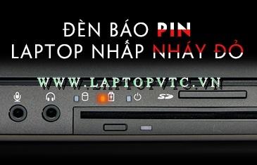 Đèn báo sạc pin laptop nhấp nháy đỏ là dấu hiệu gì?